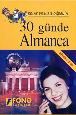 30 Günde Almanca-1 Kitap+2 CD - Kutulu