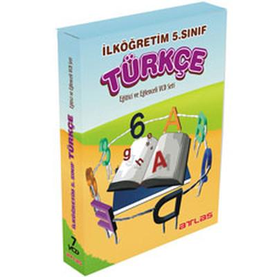 Atlas İlköğretim 5.Sınıf Türkçe Vcd Seti 7 VCD + Rehberlik Kitapçığı
