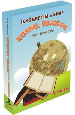 Atlas İlköğretim 5.Sınıf Sosyal Bilgiler Vcd Set 8 VCD + Rehberlik Kitapçığı