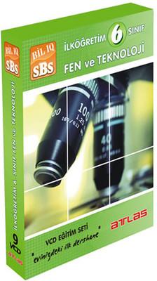Bil Iq 6.Sınıf Fen ve Teknoloji   Vcd Seti  9 VCD + Rehberlik Kitapçığı