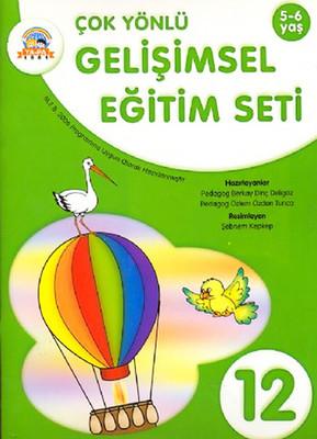 Çok Yönlü Gelişimsel Eğitim Seti-12 (5-6 Yaş)
