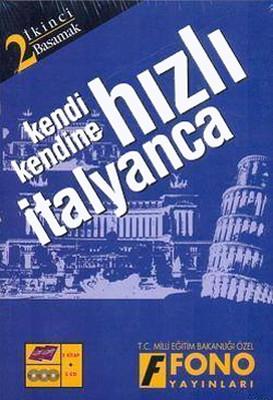 Hızlı İtalyanca 2.Basamak Seti (2 Kitap 3 CD) - Kutulu