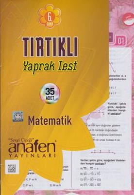 6. Sınıf Matematik Tırtıklı Yaprak Test