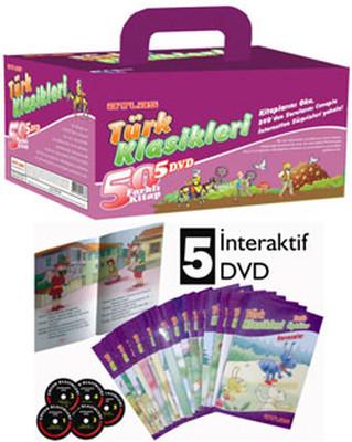 Türk Klasikleri 50 Kitap + 5 DVD