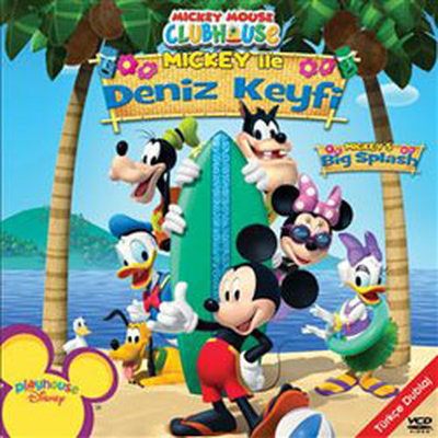Mickey Mouse Clubhouse: Big Splash - Mickey Mouse Clubhouse: Mickey Ile Deniz Keyfi