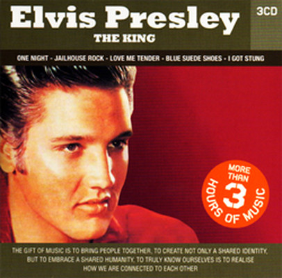 Elvis Presley The King / 3cd Set