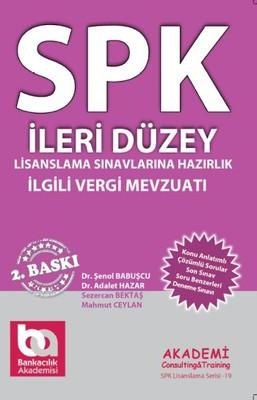 SPK İleri Düzey - İlgili Vergi Mevzuatı