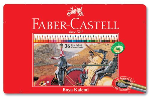 Faber-Castell Metal Kutu Boya Kalemi 36 Renk - 5170115846
