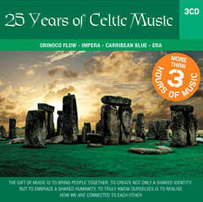 3CD Set 25 Years Of Celtic Music