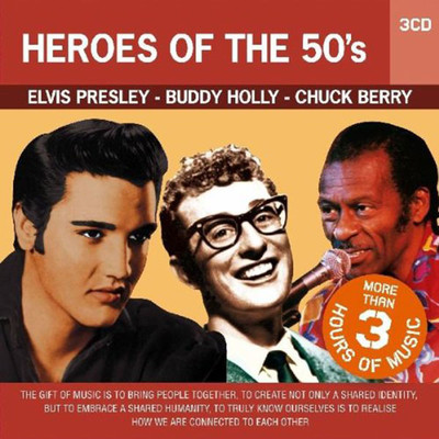 3CD Set Heroes Of The 50's