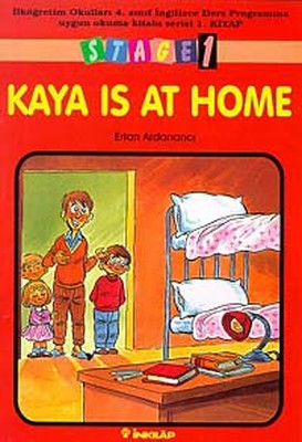 Stage 1 Kaya is at Home (4. Sınıf 1. kitap)