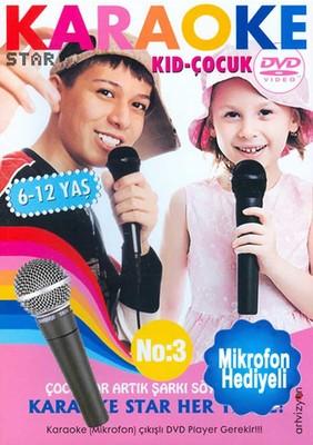 Karaoke Star 3 -Kid-Çocuk (Mikrofon Hediyeli)