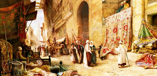 Anatolian Puzzle Kahire'de Halı Pazarı 1500 Parça 3751