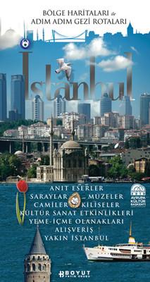 İstanbul - Bölge Haritaları ile Adım Adım Gezi Rehberi