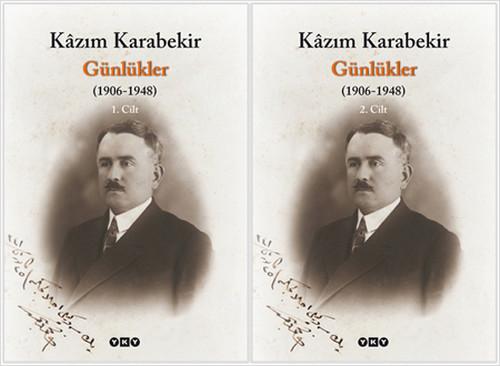 Günlükler-2 Cilt  (1906-1948) - Kazım Karabekir