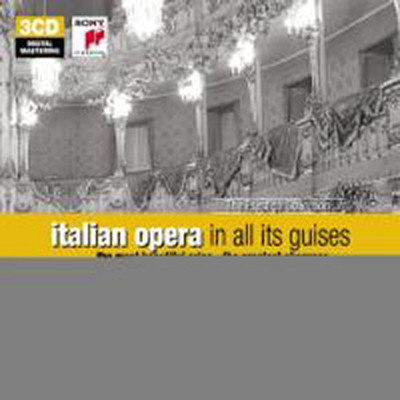 The Glory Of Italian Opera - The Prestige Collection