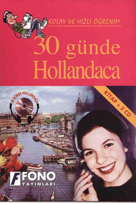 30 Günde Hollandaca CD'li - Kutulu - Fono