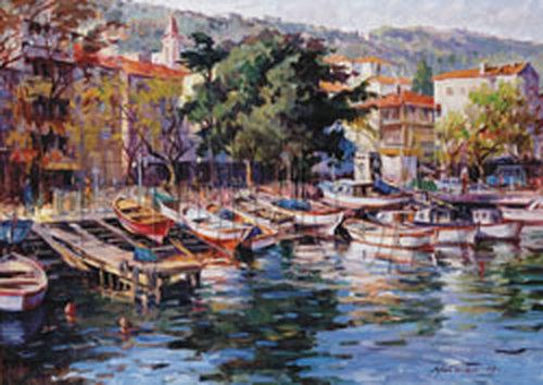 Educa Büyükdere Kayik Iskelesi - Istanbul  ( A. Türker )    14545   1500 Lük