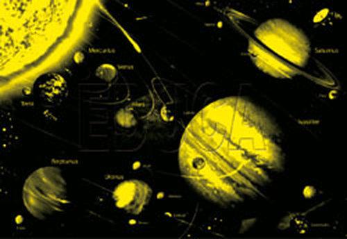 Educa 14461 Solar System 1000 Parça Neon Puzzle