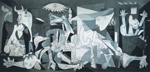 Educa Puzzle  Guernica - P. PIKASSO  14460       1000 lik  ( Minyatür )
