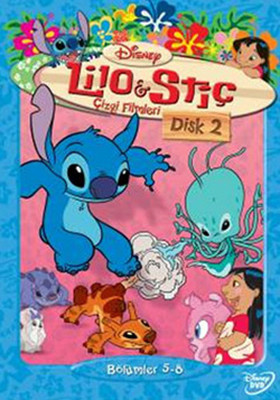 Lilo & Stitch - The Series Disc 2 - Lilo & Stiç Çizgi Filmleri Disk 2 (SERI 2)
