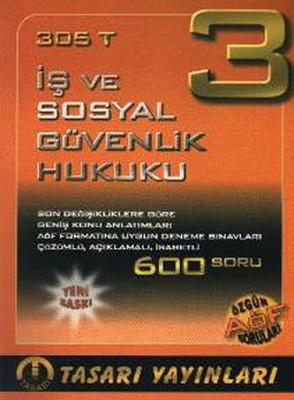 Tasarı AÖF 305T (İş ve Sosyal Güvenlik Hukuku)
