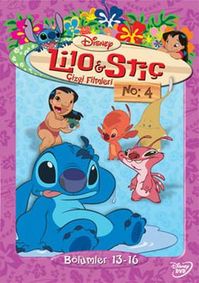 Lilo & Stitch - The Series Disc 4 - Lilo & Stiç Çizgi Filmleri Disk 4