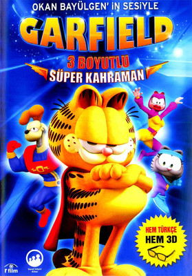 Garfield (3D) - Süper Kahraman (3 Boyutlu)