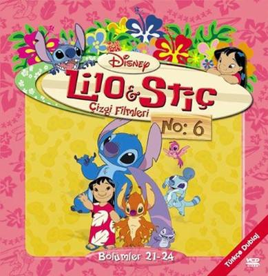 Lilo & Stitch The Series Disc 6 - Lilo & Stiç  Çizgi Filmleri Disk 6