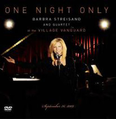One Night Only - Barbra Streisand And Quartet At The Village Vanguard CD+DVD