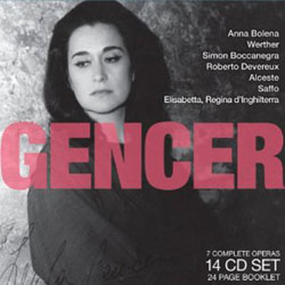 Legendary Performances Of Gencer 14 Cd