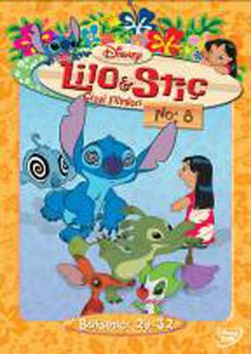 Lilo & Stitch The Series Disc 8 - Lilo & Stiç  Çizgi Filmleri Disk 8