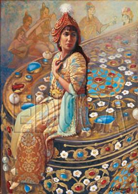 Educa Puzzle  Çesmisafa Sultan ve Yazi Kutusu (K.ASLANGER)  14727    1000 LIK
