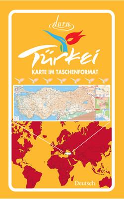 Harita Türkiye 50*70 (Almanca)