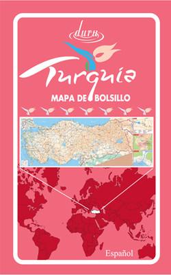 Harita Türkiye 50*70 (İspanyolca)