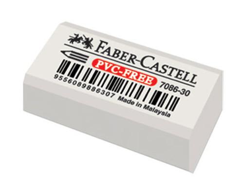 Faber-Castell Plastik Silgi 7086/30(Beyaz)  5500188630