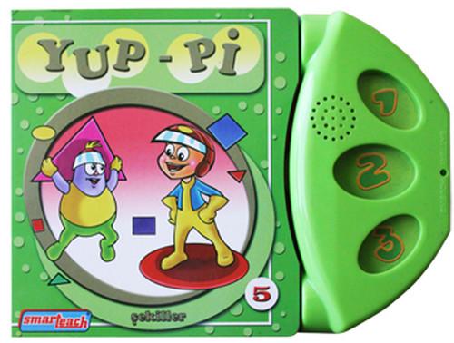 Yup-Pi 5 Şekiller - Konuşan Sesli Kitaplar