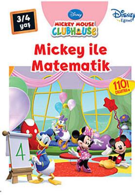 Mickey İle Matematik 3-4 Yaş