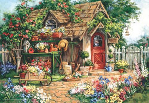 Anatolian Cennet Bahçesi / Gardener's Haven 500 Parça 3532