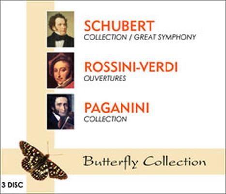 Schubert/Rossini - Verdi 3'lü  Box