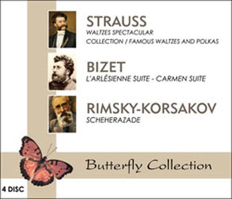 Strauss/ Bizet / Rimsky - Korsakov 4'lü Box