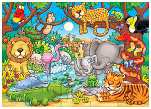 Orchard Ormanda Kimler Var Çoçuk Puzzle