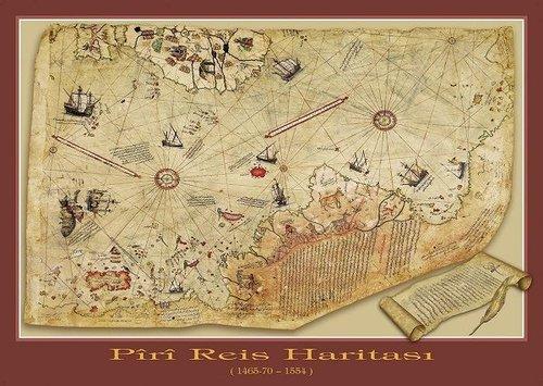 Art Puzzle 1000 Parça Pir-i Reis Haritasi 4308