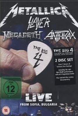 The Big Four: Live From Sofia Bulgaria (2DVD)