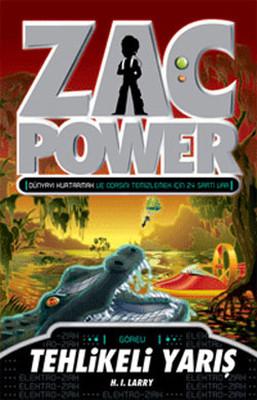 Zac Power 16 - Tahlikeli Yarış