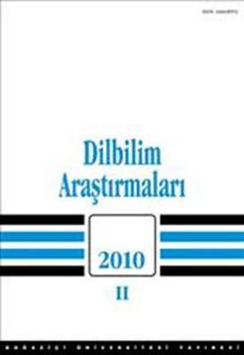 Dilbilim Araştırmaları 2010 - 2