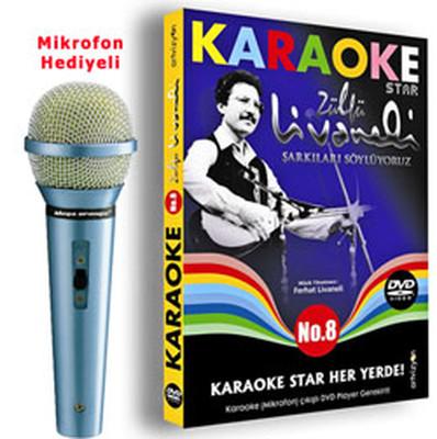 Karaoke Star 8 Zülfü Livaneli Şarkıları Söylüyoruz (Mikrofon Hediyeli)