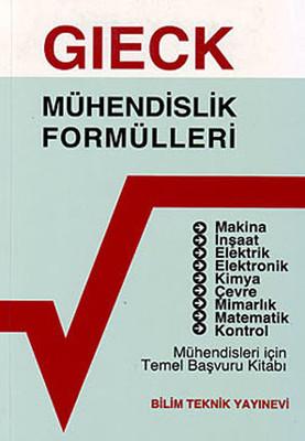 Mühendislik Formülleri