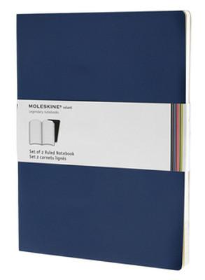 Moleskine Volant 2Li Deft.Mavi Çizg. Xl 96Syf QP731B