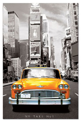 Educa Puzzle Taxi No.1, New York-Miniature 14836 1000 Lik